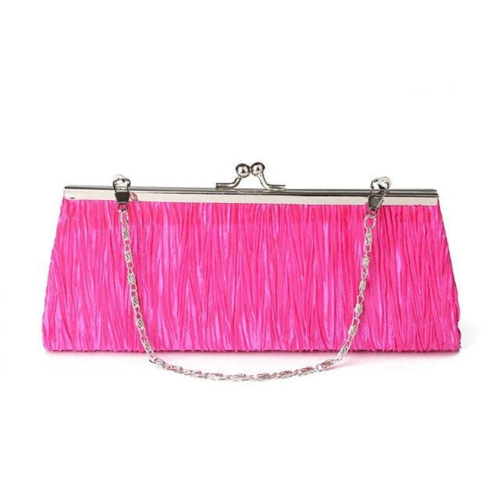 Elegant Tote Clutches Chain Wedding Handbags | Bridelily - Rose - wedding handbags