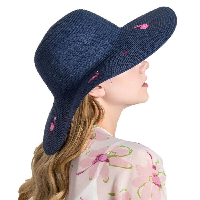 Embroidered Wide Brim Breathable Straw Hats | Bridelily - straw hats