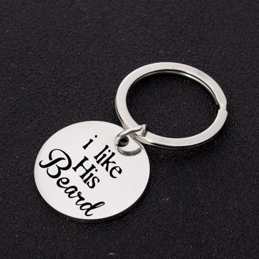Engraved Letter Zinc Alloy Keychain Favors | Bridelily - keychain favors