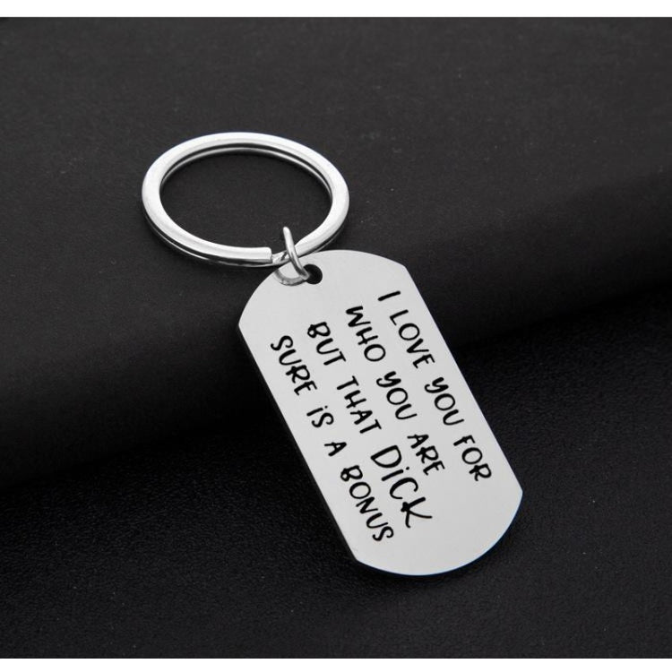 Engraved Metal Letter Present Keychain Favors | Bridelily - keychain favors