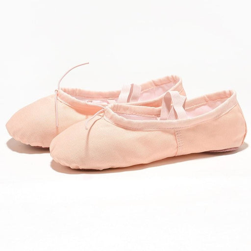 Exercise Canvas Slippers Knot Ballet Dance Shoes | Bridelily - ballet dance shoes
