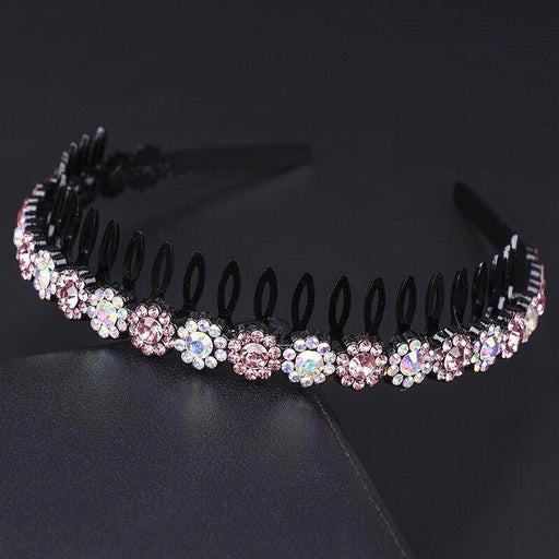 Fashion Bezel Fixed Hoop Flower Girl Accessories | Bridelily - flower girl accessories