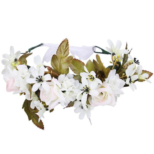Fashion Crown Garland Flower Girl Accessories | Bridelily - 21-A - flower girl accessories