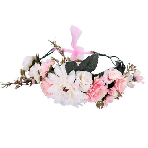 Fashion Crown Garland Flower Girl Accessories | Bridelily - 20-A - flower girl accessories