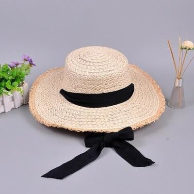 Fashion Raffia Ribbon Lace Kentucky Derby Hats | Bridelily - beach/sun hats