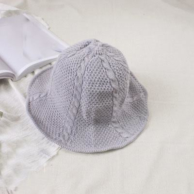 Fashion Short Brim Fisherman Bowler/Cloche Hats | Bridelily - 2gray - bowler /cloche hats