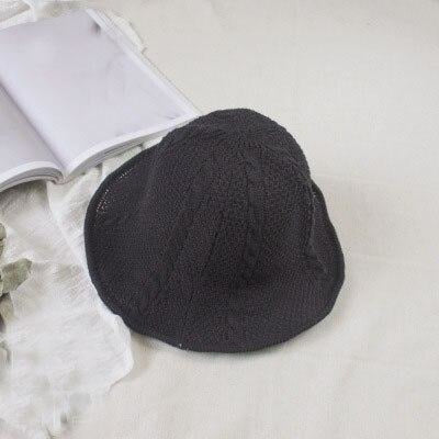 Fashion Short Brim Fisherman Bowler/Cloche Hats | Bridelily - 1Black - bowler /cloche hats