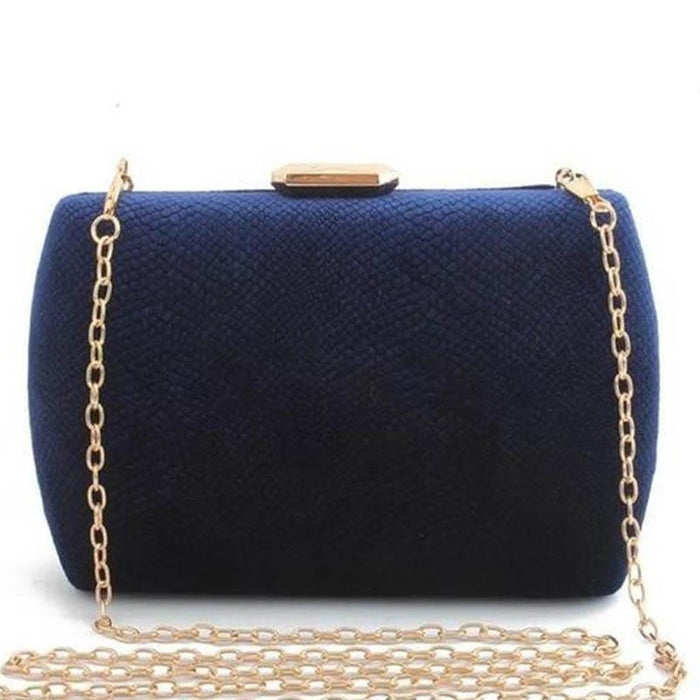 Fashion Suede Clutches Clain Wedding Handbags | Bridelily - wedding handbags