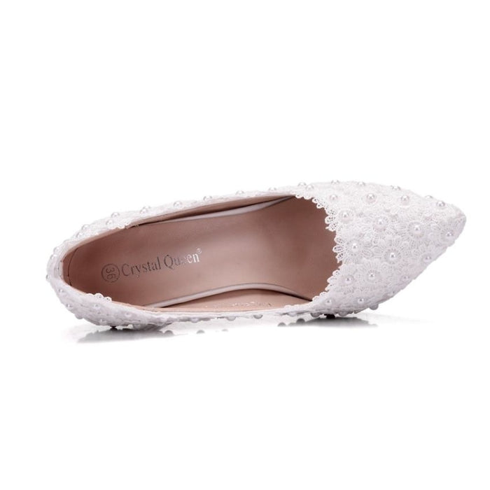 Fashion Sweet Pumps Princess Wedding Pumps | Bridelily - wedding pumps