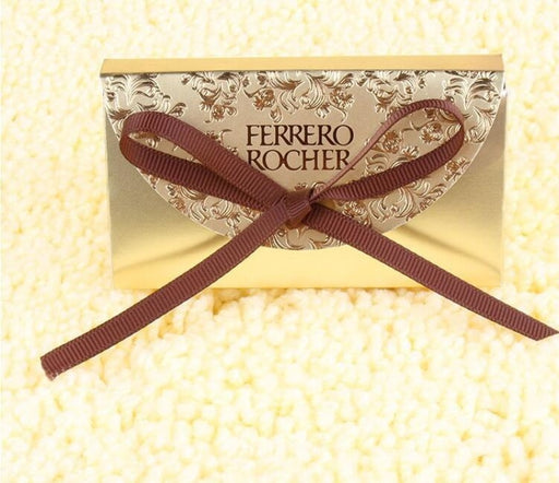 Ferrero Rocher Chocolates Bowknot Favor Holders | Bridelily - favor holders