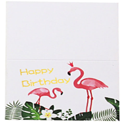 Flamingo Side Folding Thank you Cards(30PCS) | Bridelily - 1 - thnak you cards