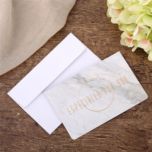 Floral Style Side Folding Thank you Cards(10PCS) | Bridelily - 1 - thnak you cards