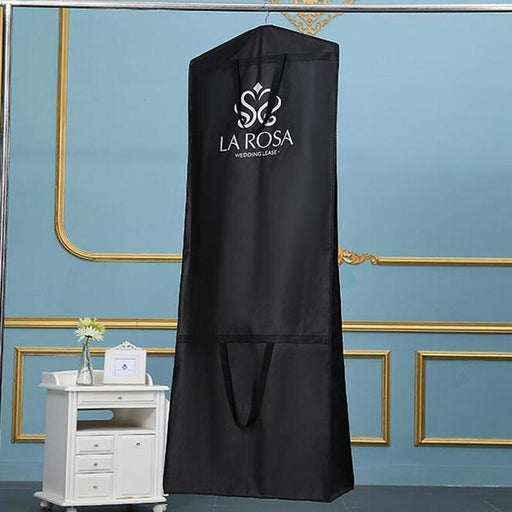 Foldable Handbag Dress Dust Cover Garment Bags | Bridelily - 180CM / Black - garment bags