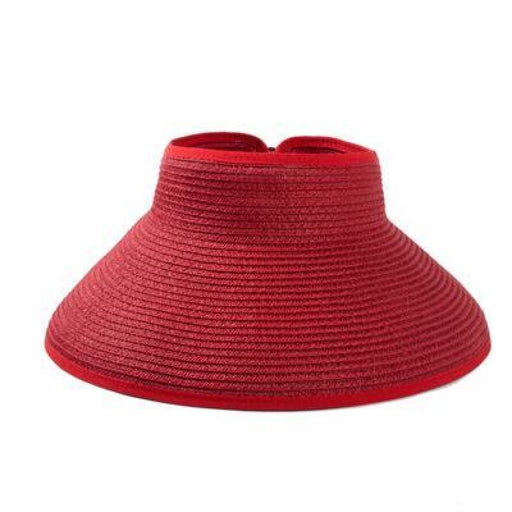 Foldable Wide Large Brim Sun Beach/Sun Hats | Bridelily - 1 - beach/sun hats