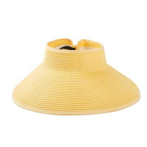 Foldable Wide Large Brim Sun Beach/Sun Hats | Bridelily - 2 - beach/sun hats