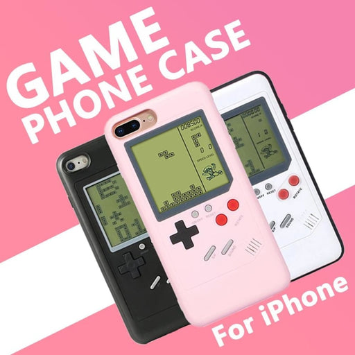 Gameboy iPhone Cases with Classic Games