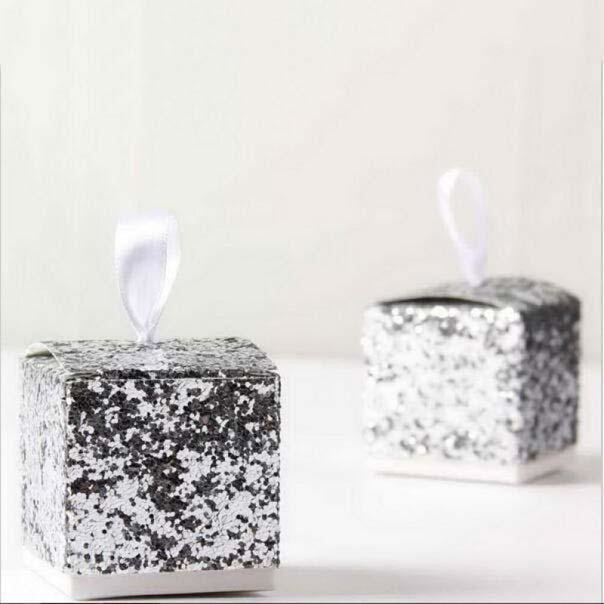 Glitter Festive Classic Shape Favor Holders | Bridelily - favor holders