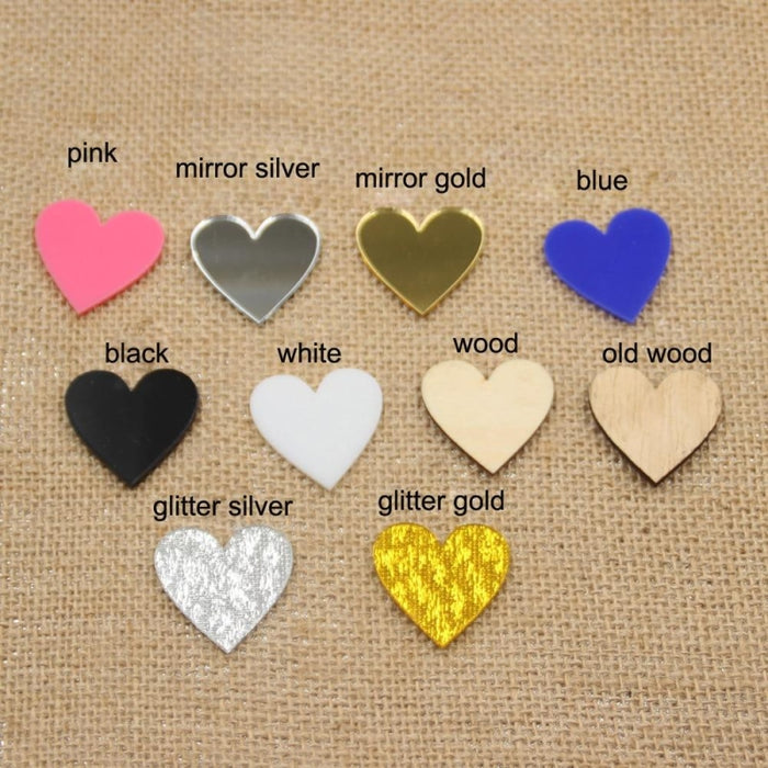 Glitter Heart Butterfly Wedding Cake Toppers | Bridelily - cake toppers