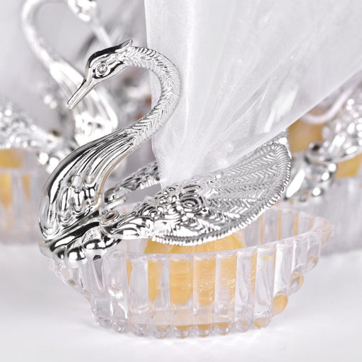 Gorgeous Swan Candy Box Wedding Anniversary Gifts - wedding anniversary gifts
