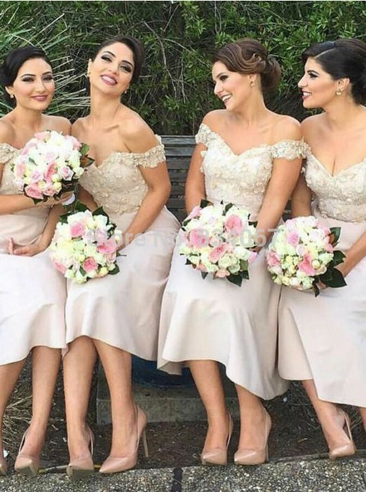 Graceful A-Line Light Pink Bridesmaid Dress - Bridesmaid Dresses