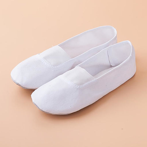 Gymnastic Slip-On Soft Sole Ballet Dance Shoes | Bridelily - ballet dance shoes