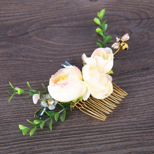 Handmade Flower Jewelry Floral Headpieces | Bridelily - floral headpieces
