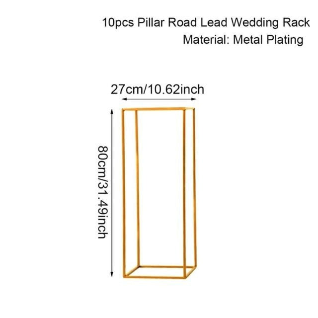 Indoor Metal Plant Stand Wedding Decorations | Bridelily - 80cm 10pc - wedding decorations