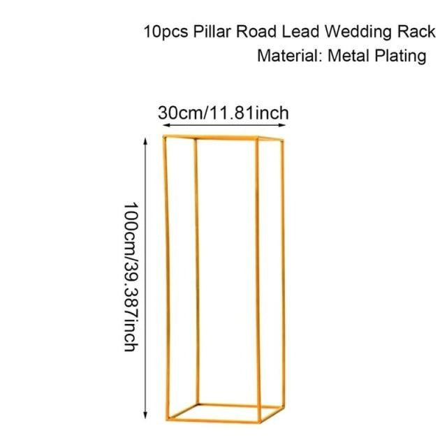 Indoor Metal Plant Stand Wedding Decorations | Bridelily - 100cm 10pc - wedding decorations