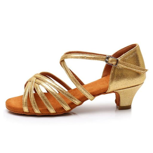 Latin Satin Latex Soft Sole Ballroom Dance Shoes | Bridelily - ballroom dance shoes