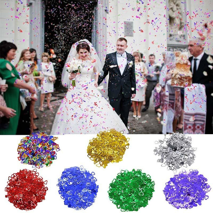 Love Heart Wedding Decorations (600pcs) | Bridelily - wedding decorations