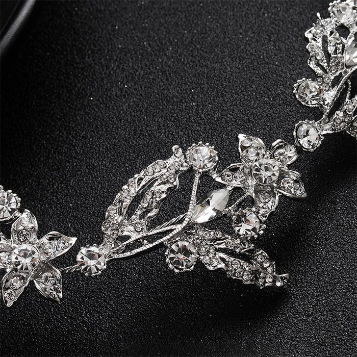 Luxurious Crystal Alloy Handmade Headbands | Bridelily - headbands