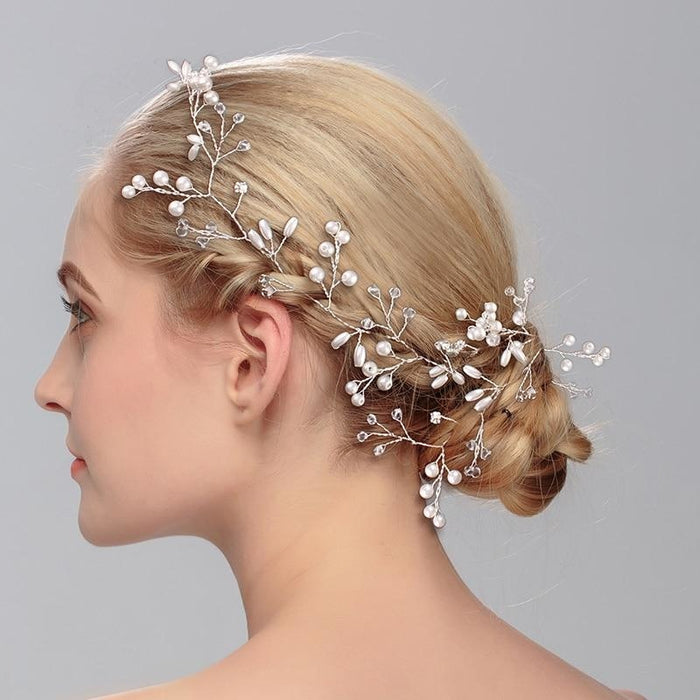 Luxurious Crystal Handmade Womens Headbands | Bridelily - headbands
