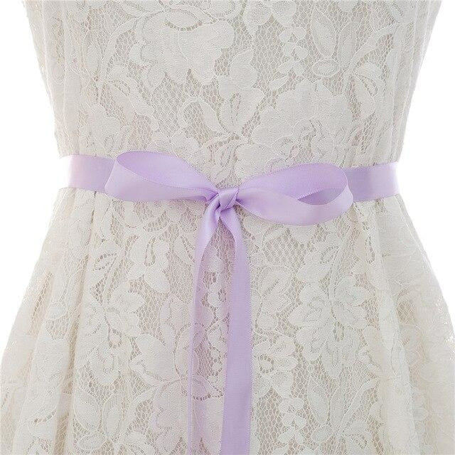 Luxurious Rhinestones Women Wedding Sashes | Bridelily - lavender / One Size - wedding sashes