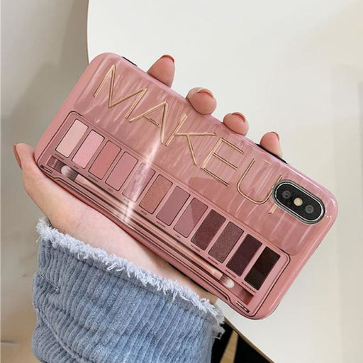 Makeup Eyeshadow Palette Phone Case For iPhone - For iphone 6 6s / Pink