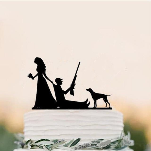 Mixed Funny Style Wedding Cake Toppers | Bridelily - cake toppers