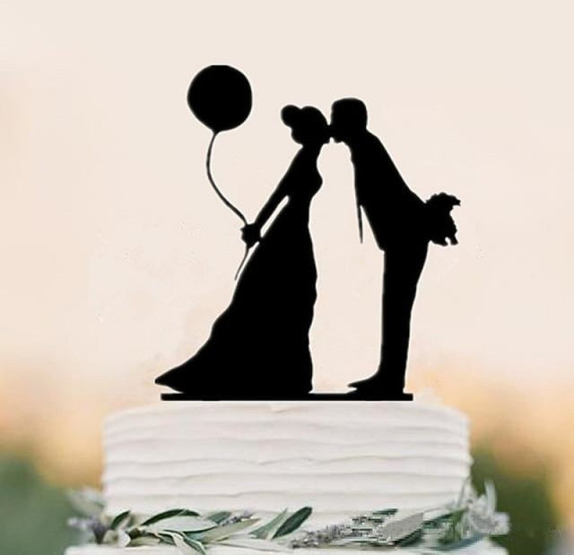 Mixed Funny Style Wedding Cake Toppers | Bridelily - style 9 - cake toppers