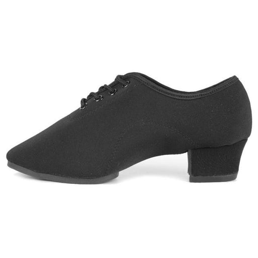 Modern Square Charm Heeled Jazz Dance Shoes | Bridelily - Black / 13.5 - jazz dance shoes