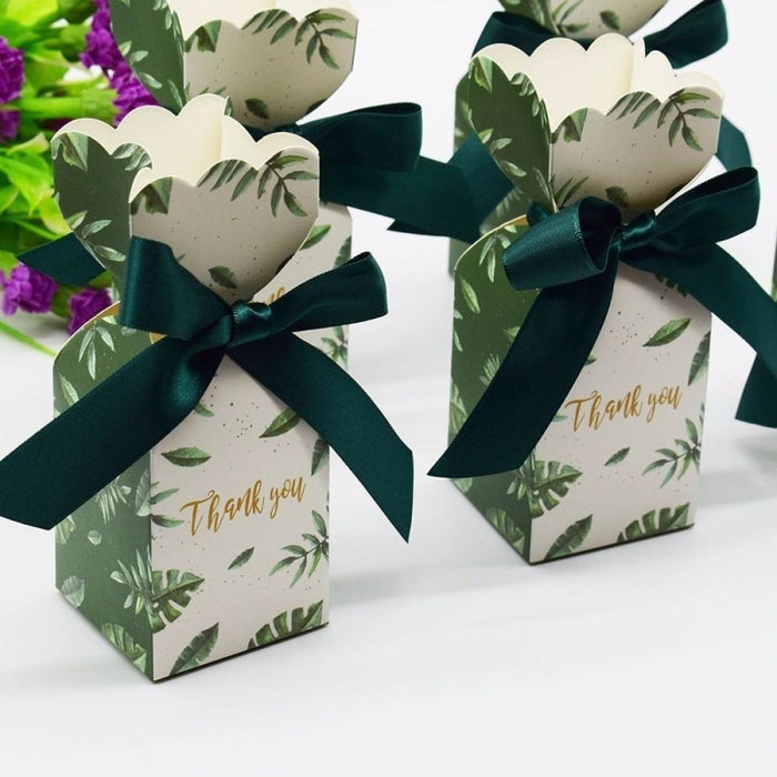 Muticolor Bomboniera Ribbon Bowknot Favor Holders | Bridelily - favor holders