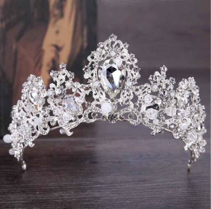 New Fashion Luxury Crystal Tiaras | Bridelily - Sryle 5 - tiaras