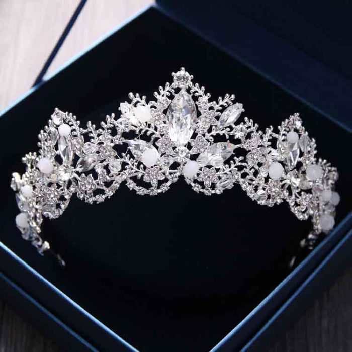 New Fashion Luxury Crystal Tiaras | Bridelily - Style 1 - tiaras