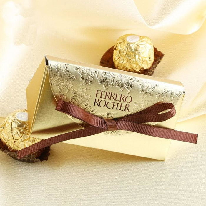 New Ferrero Rocher With Bowknot Favor Holders | Bridelily - 20 PCS - favor holders
