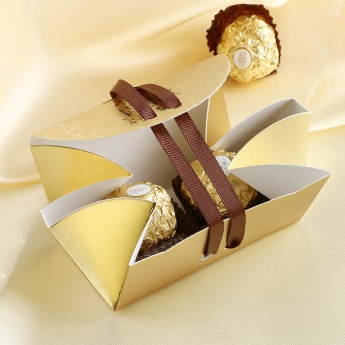 New Ferrero Rocher With Bowknot Favor Holders | Bridelily - favor holders