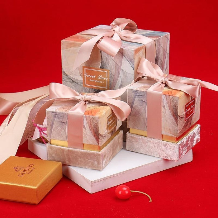 New Ribbon Bowknot Candy Boxes Favor Holders | Bridelily - favor holders