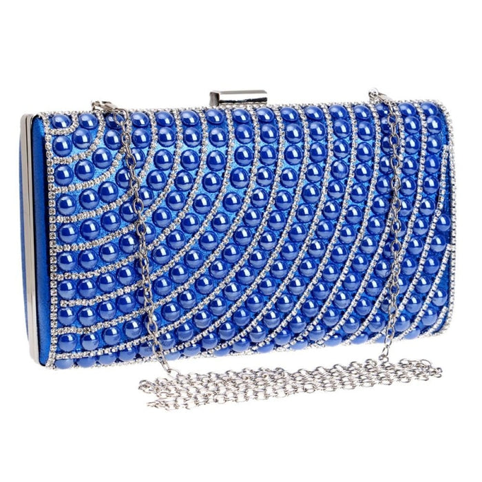 Newest Ceramics Candy With Chain Wedding Handbags | Bridelily - YM1098Blue - wedding handbags