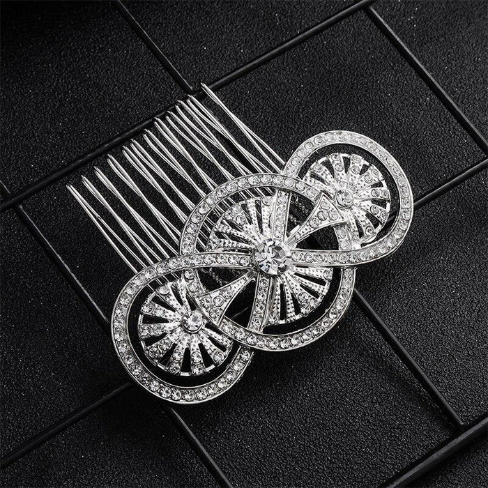 Newest Fashion Rhinestone Handmade Combs & Barrettes | Bridelily - combs and barrettes