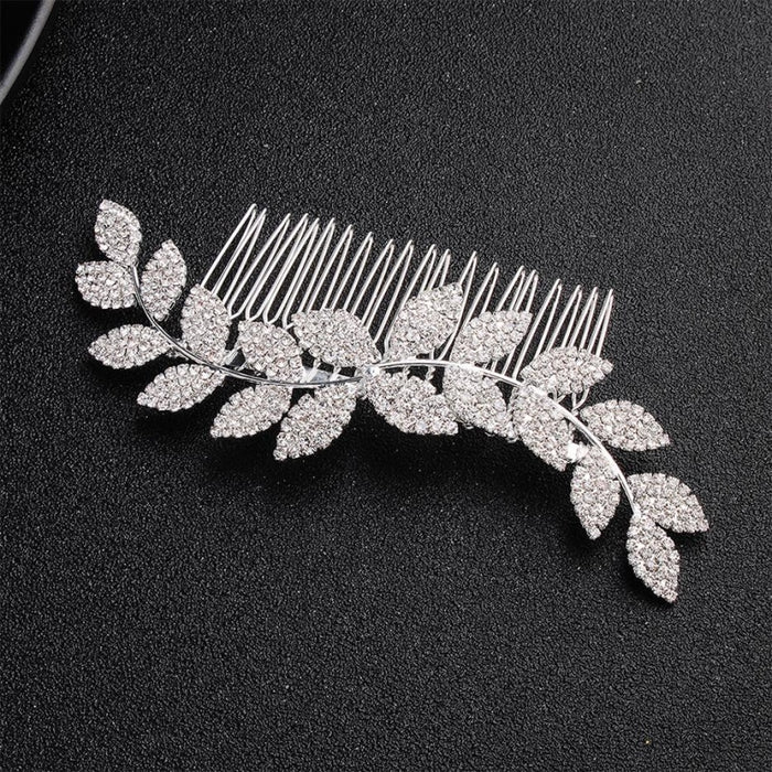 Newest Simple Leaves Handmade Womens Combs & Barrettes | Bridelily - combs and barrettes