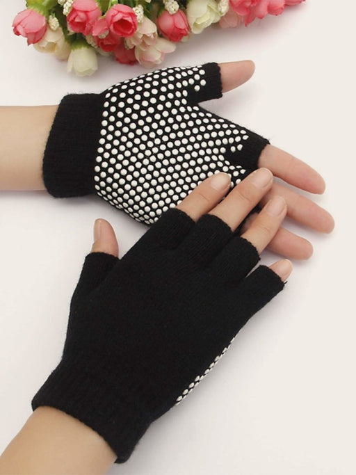 One Pair Sports Half Finger Gloves - As Picture / One Size - sports equipments