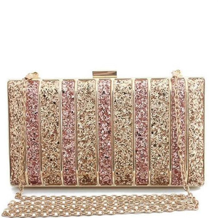 Panelled Sequin Rhinestones Wedding Handbags | Bridelily - wedding handbags