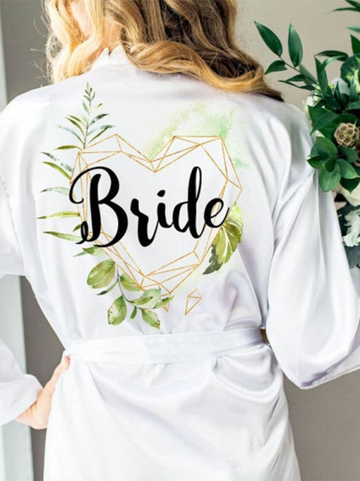 Personalised Name Title Wedding Robes & Wedding Gifts | Bridelily - bride gifts