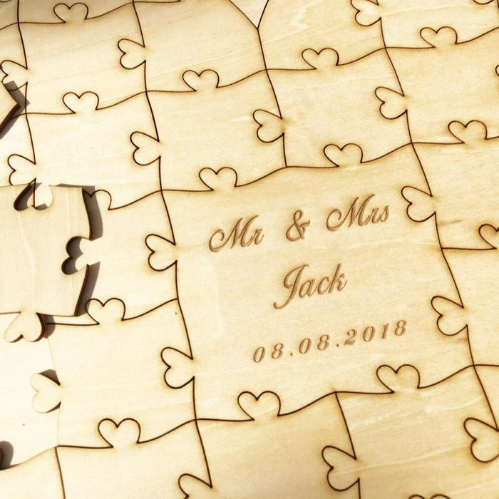 Personalised Wedding Signature Puzzle Guestbooks | Bridelily - guestbooks